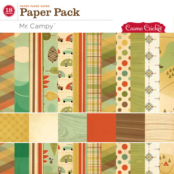 Cosmo Cricket digital scrapbook papers