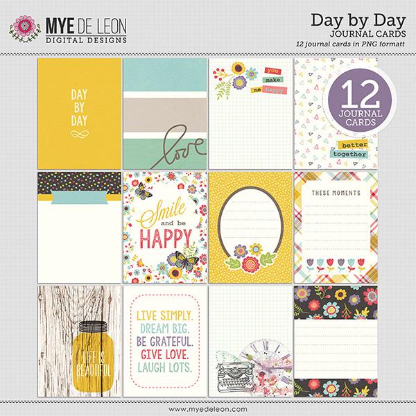 Mye De Leon digital journaling cards