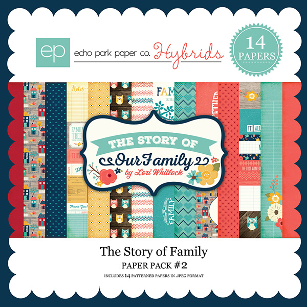 Echo Park digital paper pack available at www.snapclicksupply.com. #digitalscrapbooking #snapclicksupply
