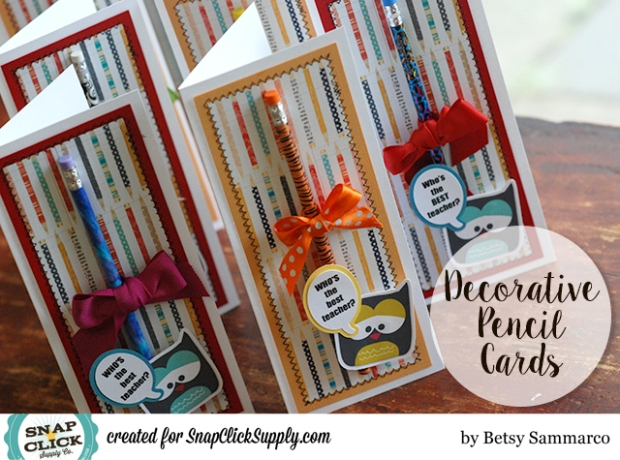 Pencil Cards by Betsy Sammarco 1