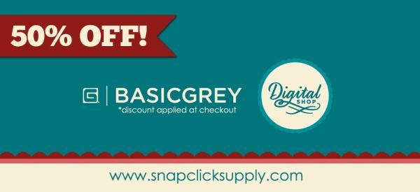 Basic Grey 50% off sale