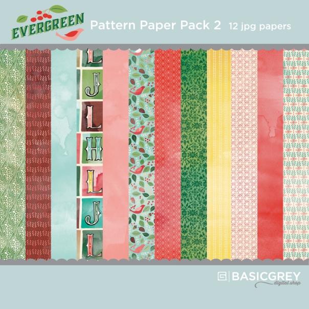 Basic Grey Evergreen digital paper pack available at www.snapclicksupply.com #digitalscrapbooking #snapclicksupply