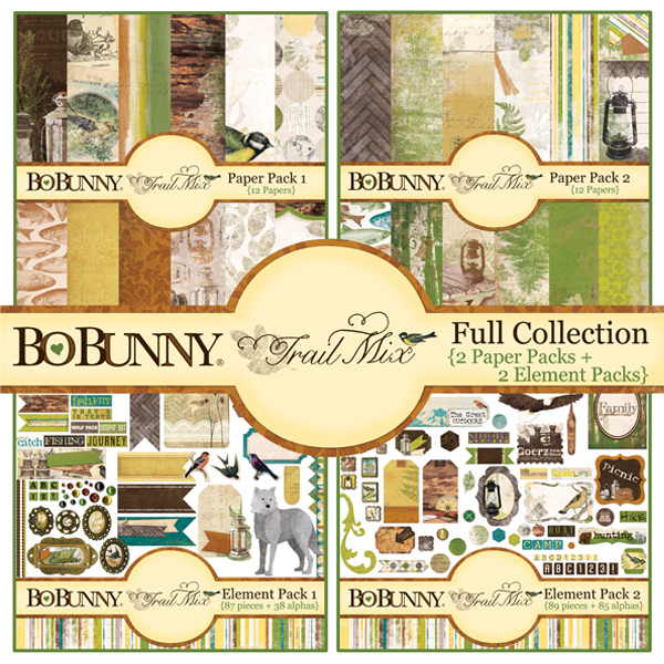 Bo Bunny Trail Mix digital scrapbooking kit available at www.snapclicksupply.com #digitalscrapbooking #snapclicksupply