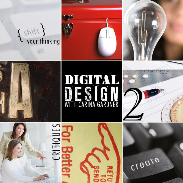 Digital Design self paced workshop available at www.snapclicksupply.com #digitalscrapbooking #scrapbookworkshop