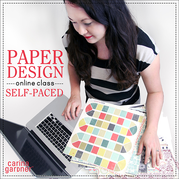 Carina Gardner Paper Design self-paced class available at www.snapclicksupply.com #digitalscrapbooking #snapclicksupply