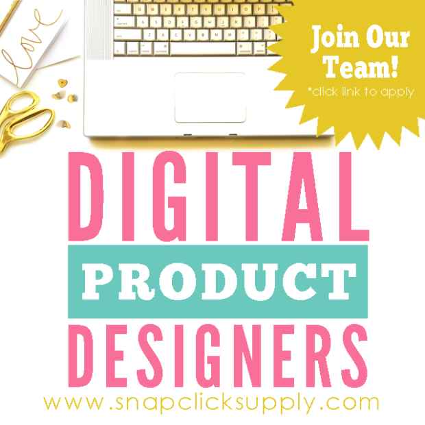 Digital Product Designer Call Out for www.snapclicksupply.com #digitalscrapbooking
