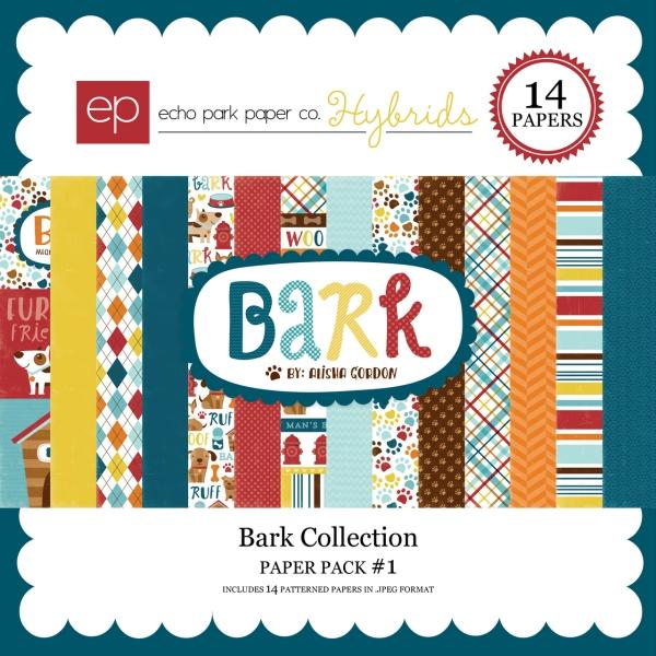Echo Park Bark digital paper kit  available at www.snapclicksupply.com #digitalscrapbooking #snapclicksupply
