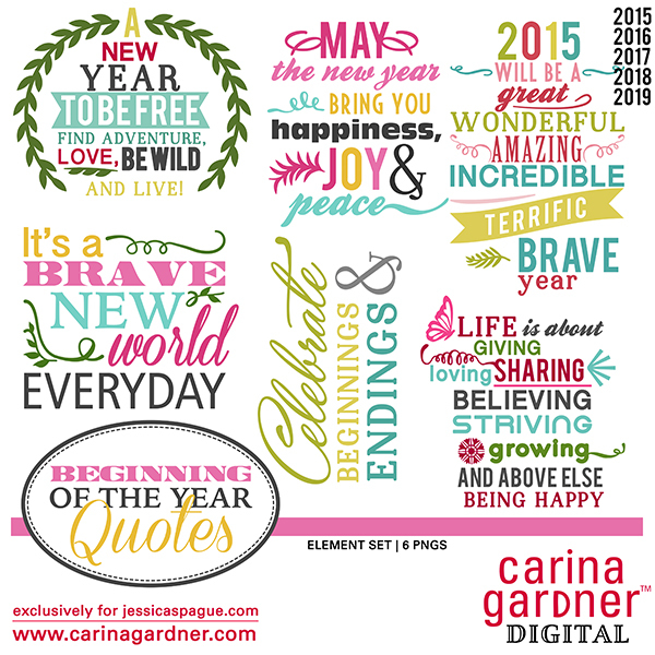 Carina Gardner Beginning of the Year Quotes