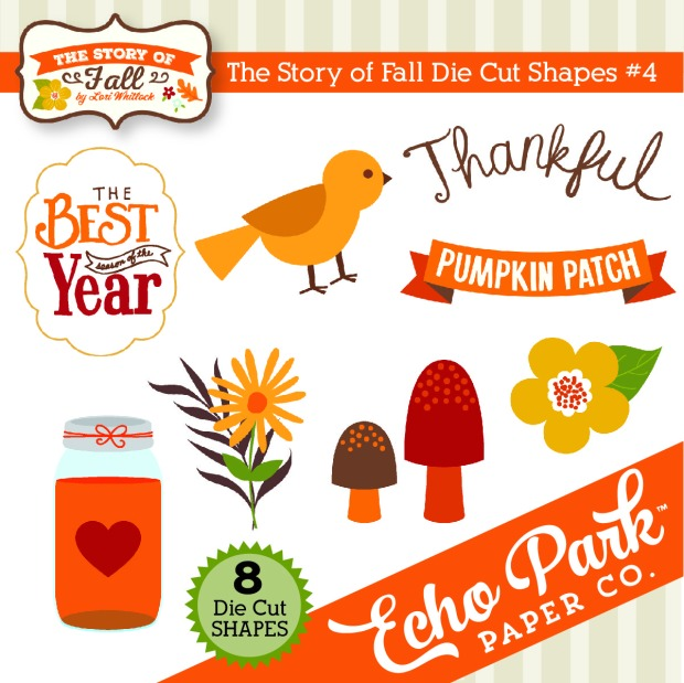 Echo Park The Story Of Fall Cut Files available at www.snapclicksupply.com #digitalscrapbooking #fall #cutfiles