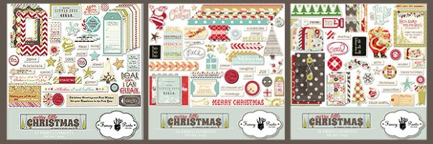 Fancy Pants Design Merry Little Christmas Kit available at www.snapclicksupply.com #digitalscrapbooking #snapclicksupply