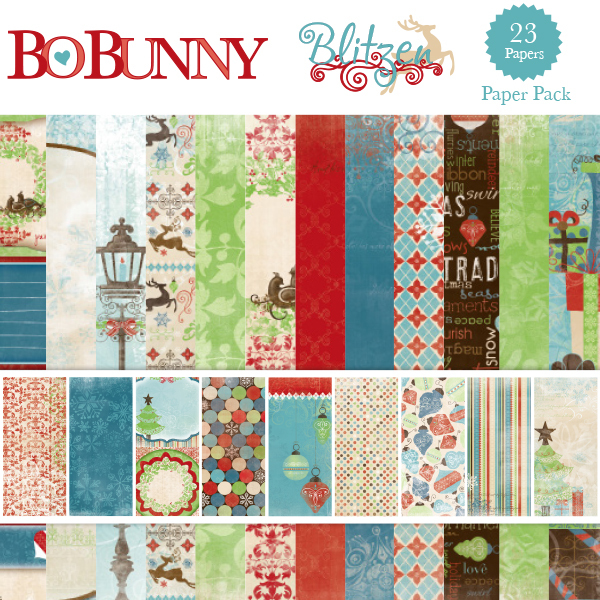 Bo Bunny Blitzen Paper Pack available at www.snapclicksupply.com #digitalscrapbooking #snapclicksupply