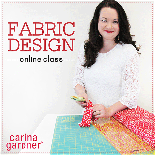 Carina Gardner fabric design self-paced workshop available at www.snapclicksupply.com #selfpacedworkshop #onlineclass