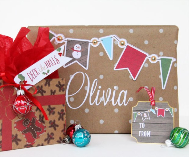 Gift Tags Candice Meyer featuring Echo Park Hybrid's The Story of Christmas digital collection available at www.snapclicksupply.com #freeprintable #digitalscrapbooking